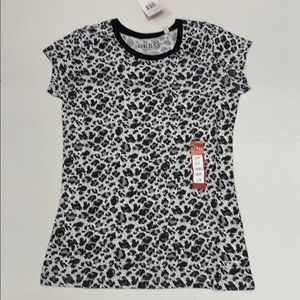 Guess Animal Print Tee Shirt